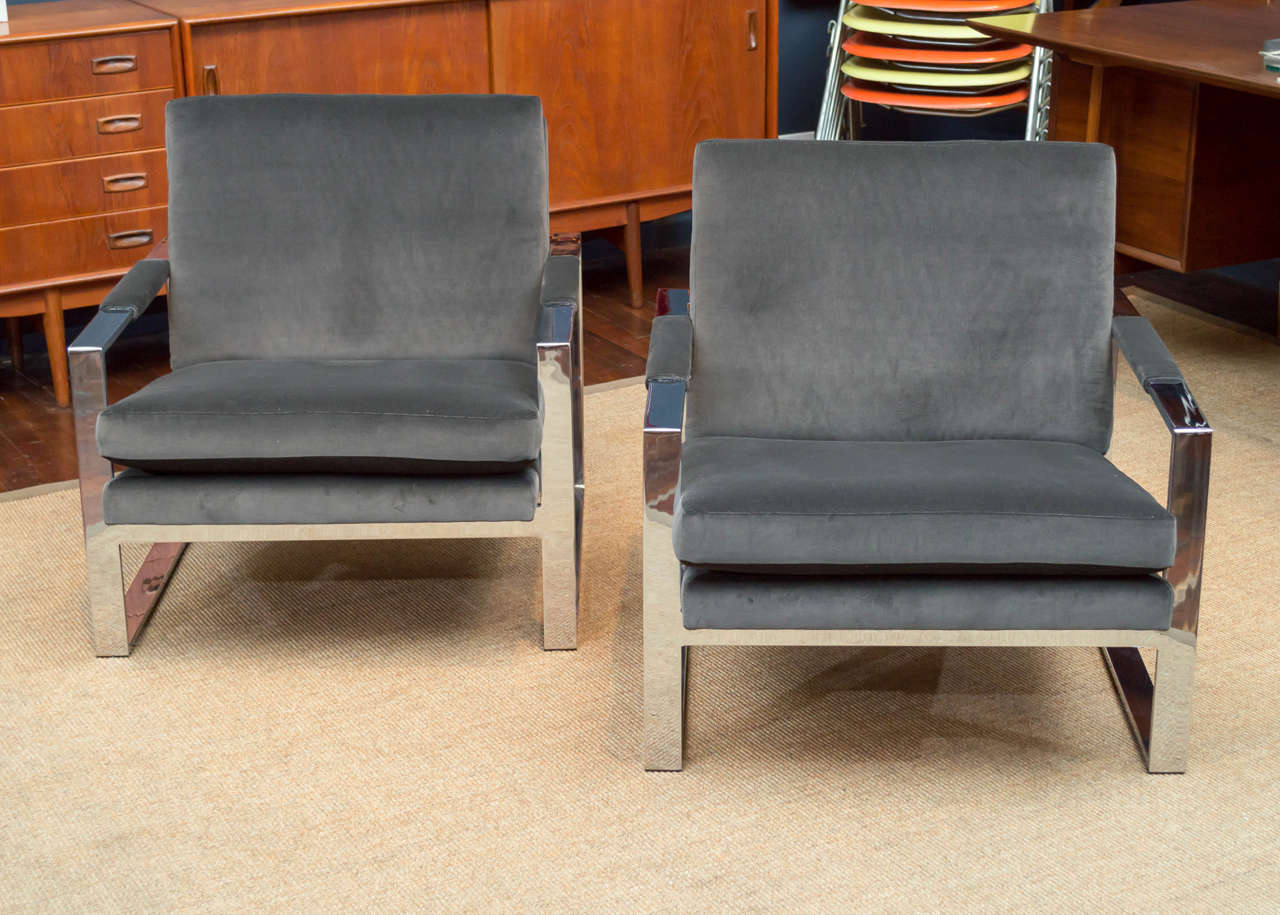 milo baughman chair wheelchair hire sydney lounge chairs at 1stdibs