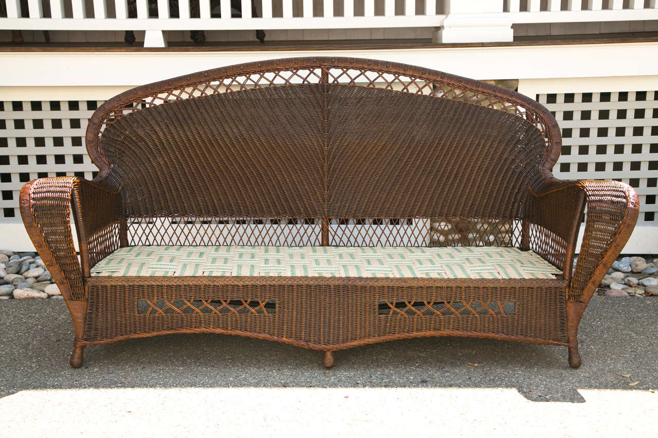 antique wicker chairs how to make a plywood chair sofa and at 1stdibs