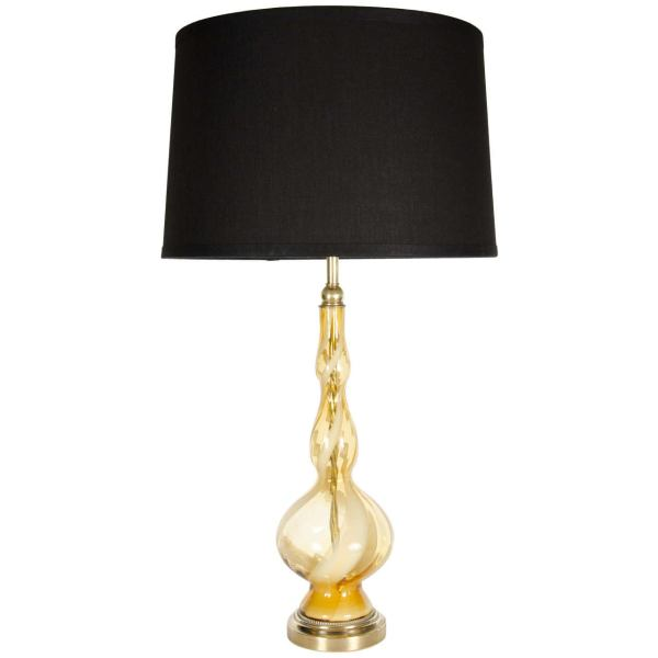 Hand Blown Glass Table Lamps