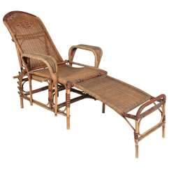 Patio Chairs With Footrests Wood And Leather Office Chair Art Deco Reclining Wicker Lounge Detachable