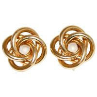 Tiffany Gold Knot Earrings at 1stdibs