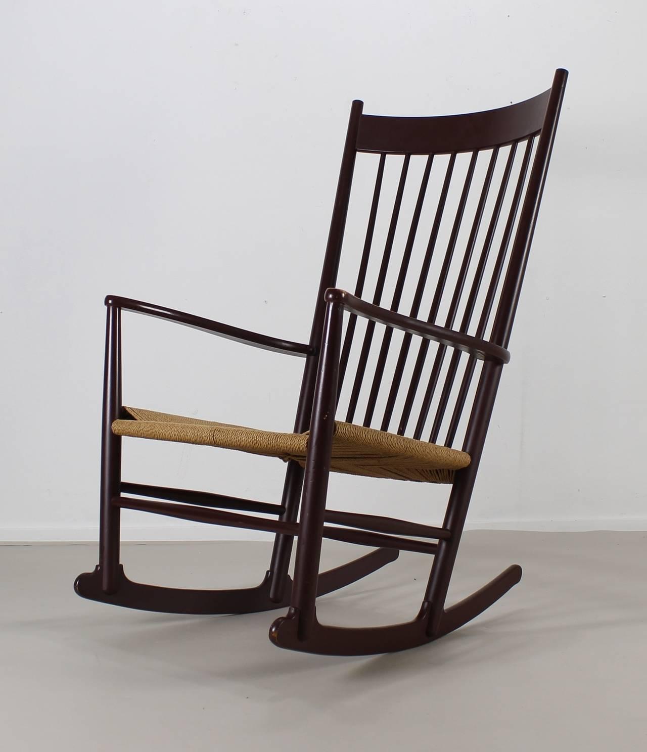 hans wegner rocking chair baby high chairs at walmart for fdb møbler denmark 1stdibs