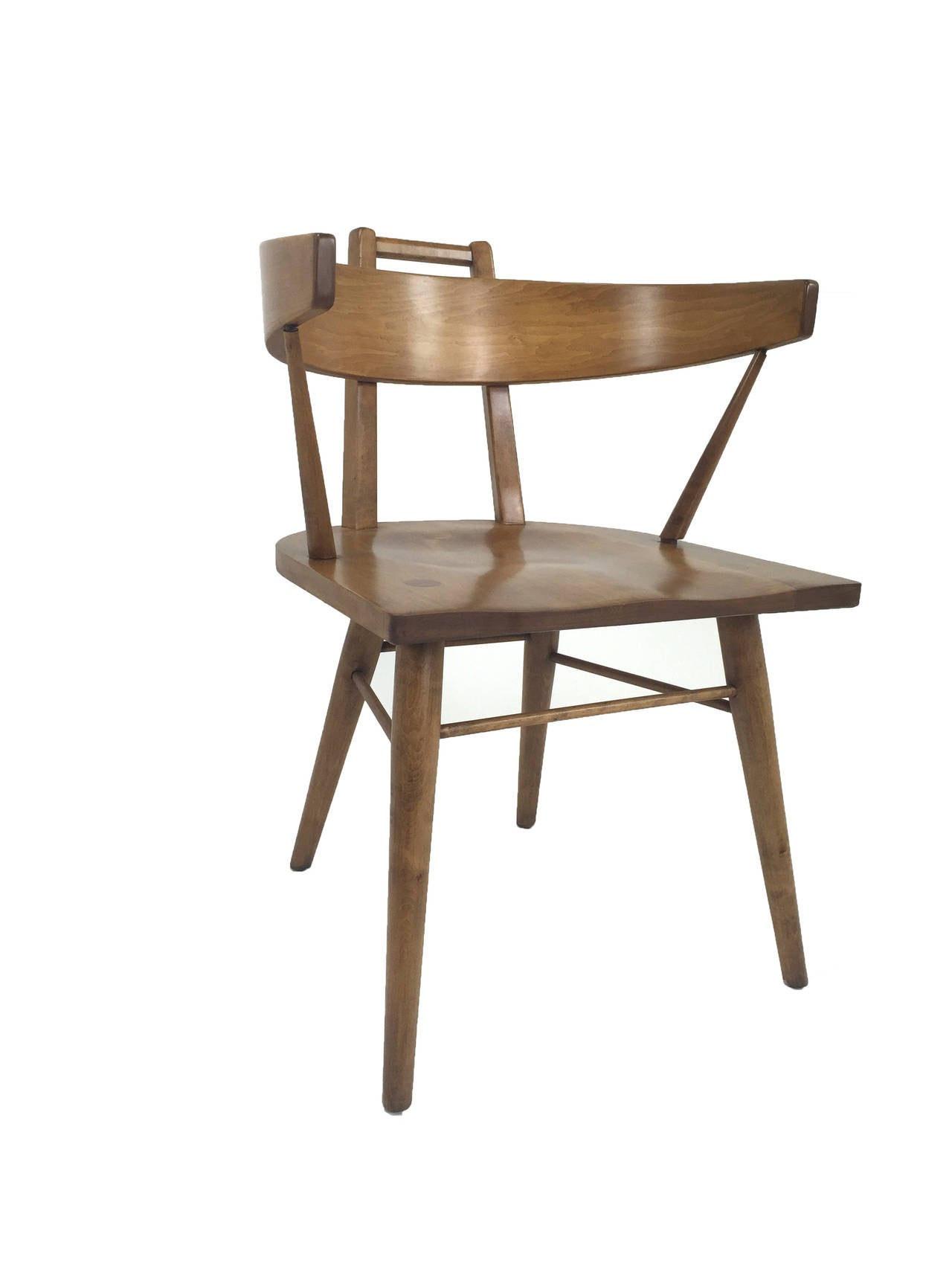 unusual dining chair la z boy executive wing chairs by the northwest co at 1stdibs