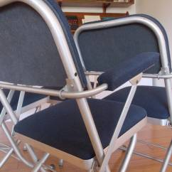 Nice Folding Chairs Poly Rocking Chair Lancaster Pa Set Of Four Deco By Warren Mcarthur At