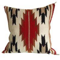 Navajo Weaving Pillow /great Colors and Design at 1stdibs