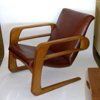 Iconic Original Airline Chair by KEM Weber at 1stdibs