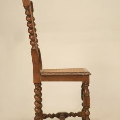 Barley Twist Chair Camping Chairs Heavy Duty Antique French Side With Original Cane