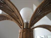Vintage Wicker Palm Tree Floor Lamp at 1stdibs