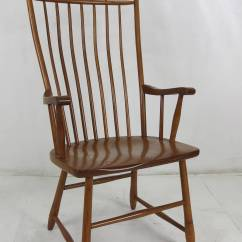 Windsor Style Chairs College Dorm Room Set Of Six High Back Dining At 1stdibs