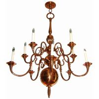 English Copper Chandelier at 1stdibs