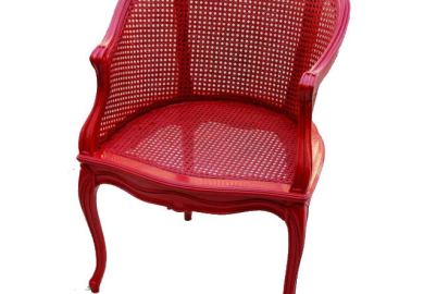 Geeks On Home How To Paint Cane Chairs