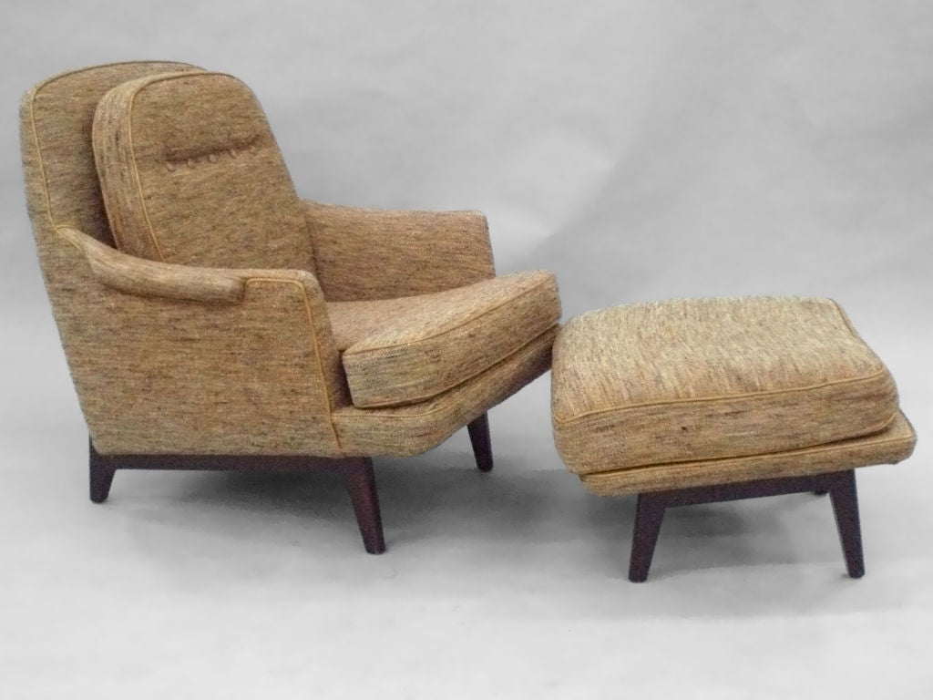 most comfortable chair for reading executive deals gentleman 39s modernist and ottoman inspired