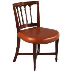 Desk Chair Utm Patio Deck Chairs English Regency Mahogany At 1stdibs