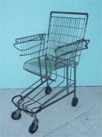 Shopping Cart Chair by Tom Sachs at 1stdibs
