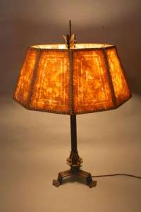 1920s Magnificent Tall Spanish Revival Table Lamp at 1stdibs