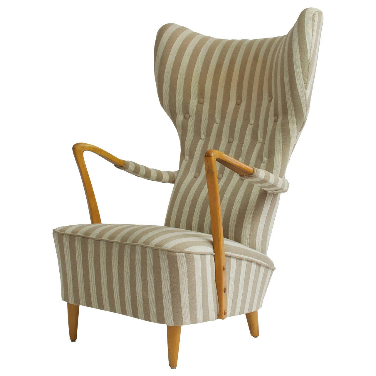 swedish high chair wheelchair jump oh shoot 1950s back lounge and ottoman at 1stdibs