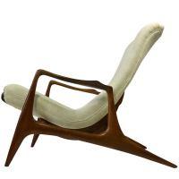 Vladimir Kagan Sculpted Adjustable Lounge Chair at 1stdibs
