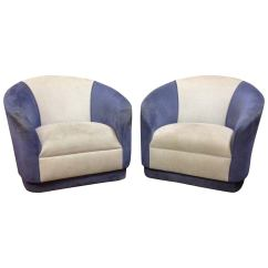Swivel Chair Price In Bd Office Arm Chairs Pair Of Barrel At 1stdibs