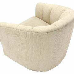 Revolving Lounge Chair Covers And Sashes Leeds Pair Of Barrel Back Chairs By Milo