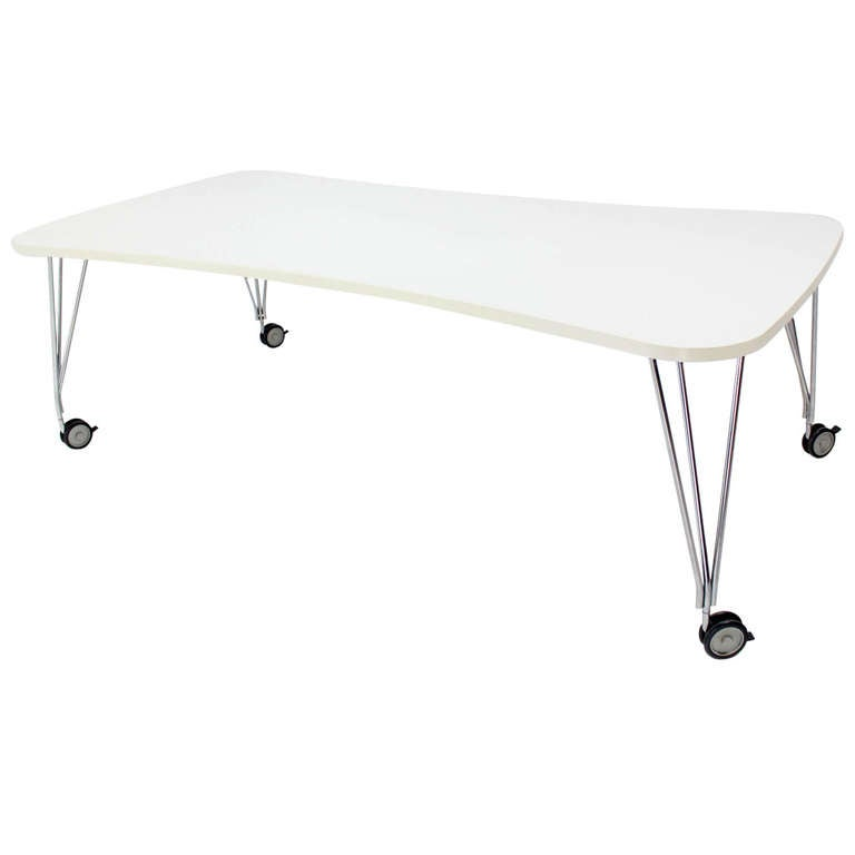 Large White Kartel Max Dining or Conference Table on