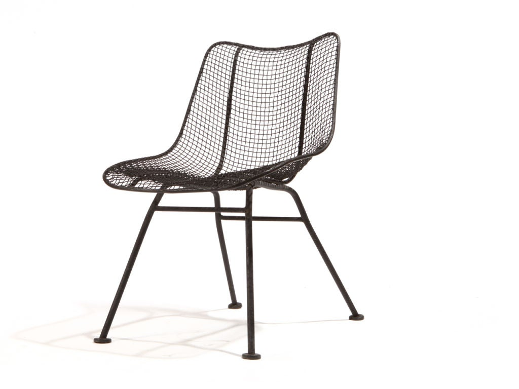 wire dining chairs hula chair gif mesh by woodard at 1stdibs