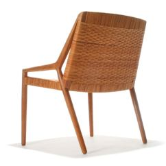 Cane Easy Chair Staff Room Table And Chairs Oak By Larsen Madsen At 1stdibs