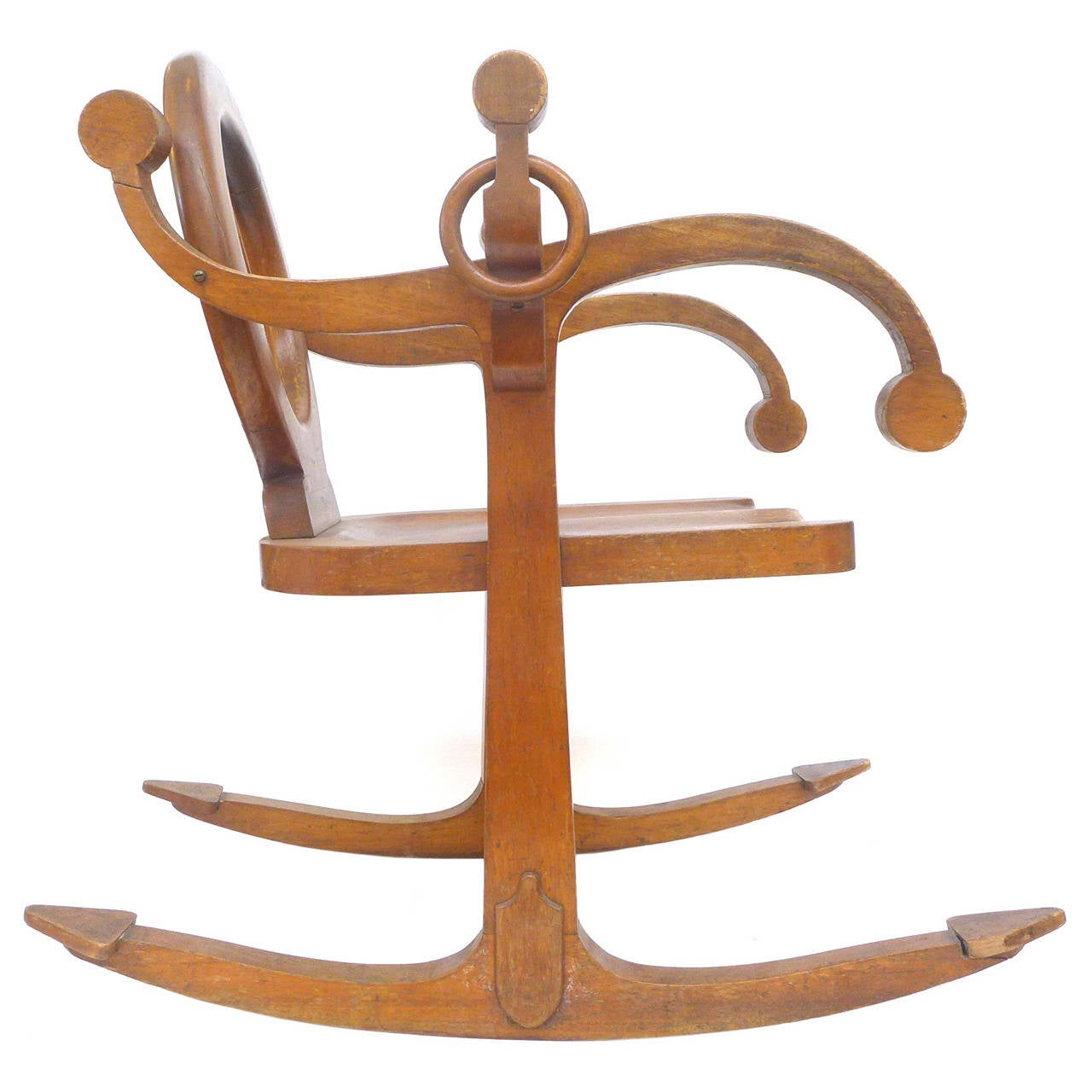 Unusual Chairs Unusual Quotanchor Quot Rocking Chair At 1stdibs