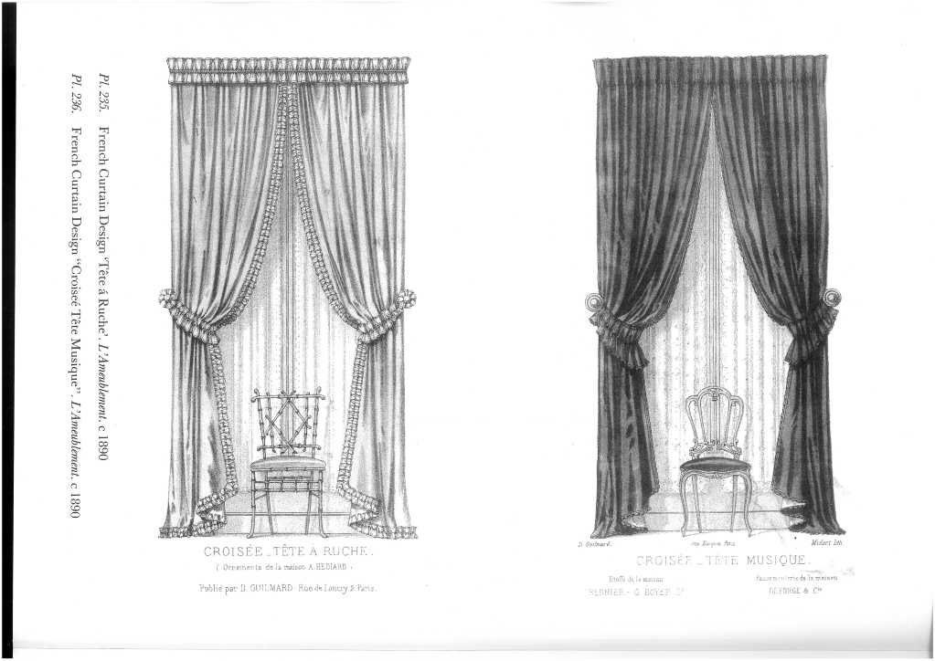 The Potterton Pictorial Treasury of Drapery and Curtain