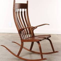 Craftsman Rocking Chair Styles Covers At Home Contemporary California Dark