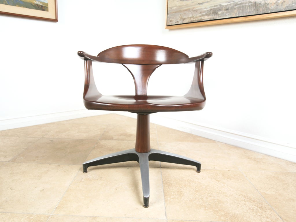 table with swivel chairs large folding chair covers mid century solid wood dining and at