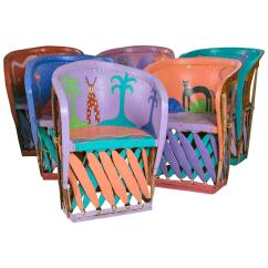 Stool Chair Fantastic Furniture Eames Chairs Replica Set Of Painted From Santa Fe New Mexico