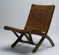 Mid-Century Ecuadorian Folding Chair at 1stdibs