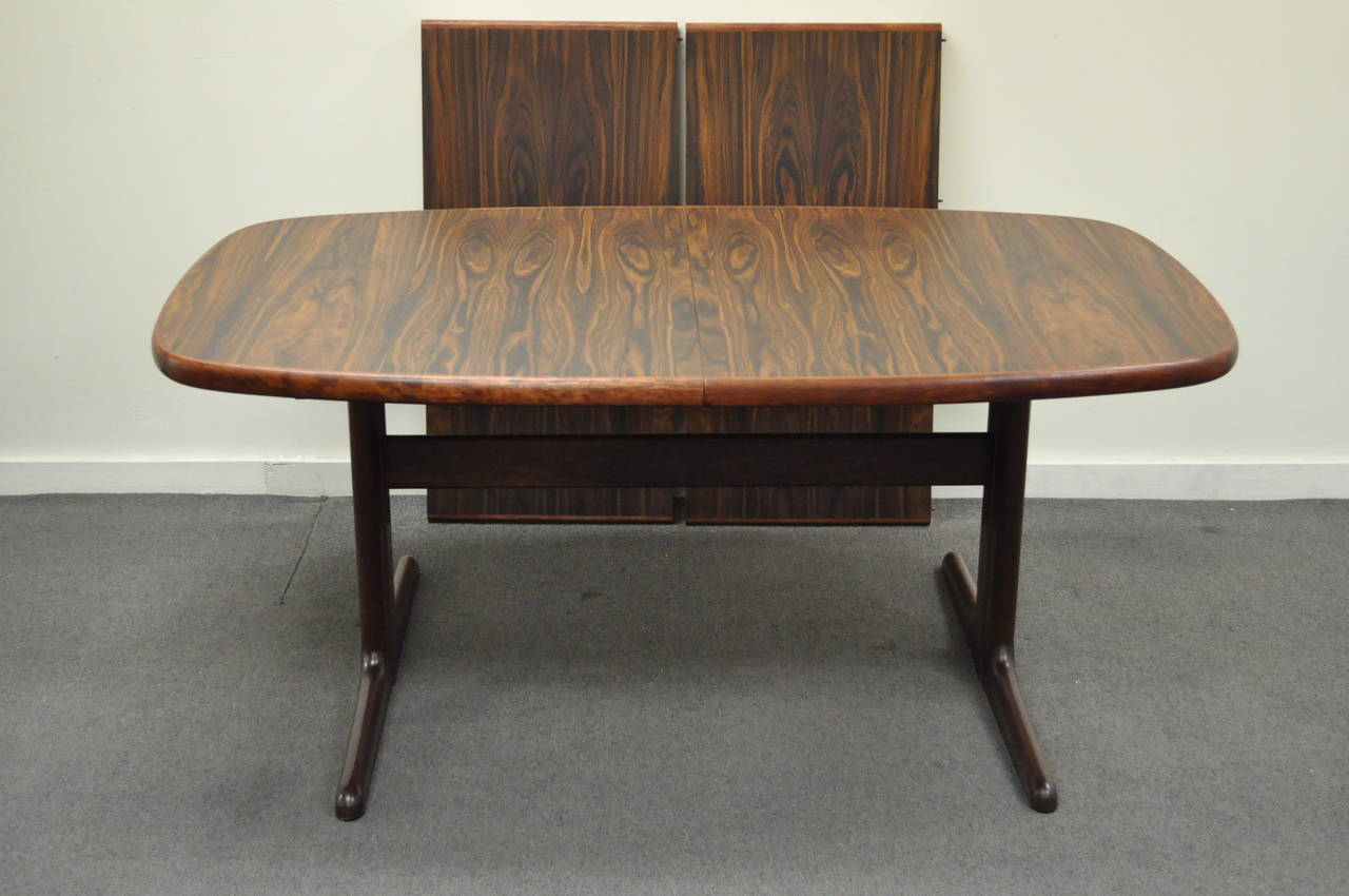skovby rosewood dining chairs red kitchen table mid century danish modern with two
