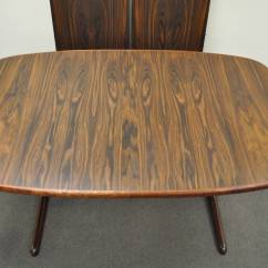 Skovby Rosewood Dining Chairs Chair Covers For Sporting Events Mid Century Danish Modern Table With Two
