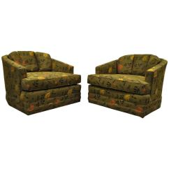 Drexel Heritage Sofa Prices Brandon Distressed Whiskey Italian Leather Loveseat And Chair Great Pair Of Swivel Barrel Back Club