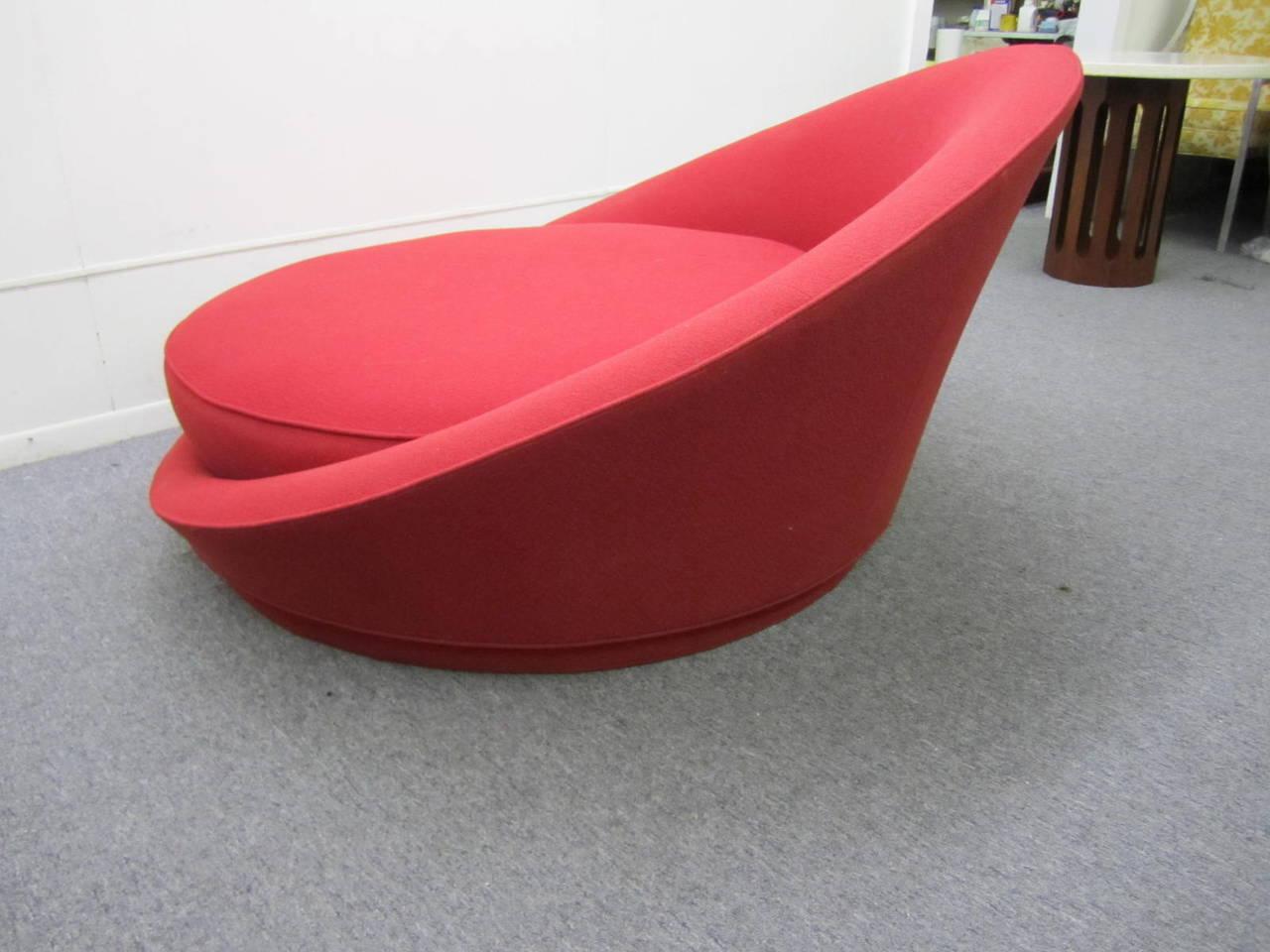 circular lounge chair roman fabulous round by milo baughman mid