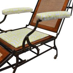 Ergonomic Folding Chair Kitchen Table Cushions Adjustable Invalid Campaign At 1stdibs