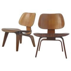 Eames Lcw Chair Desk Za Early Lounge Chairs At 1stdibs