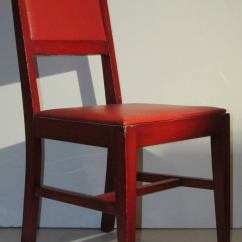 Chairs At Marshalls Rocking For Nursery Canada 1940 39s Modernist Red From Marshall Fields 1stdibs