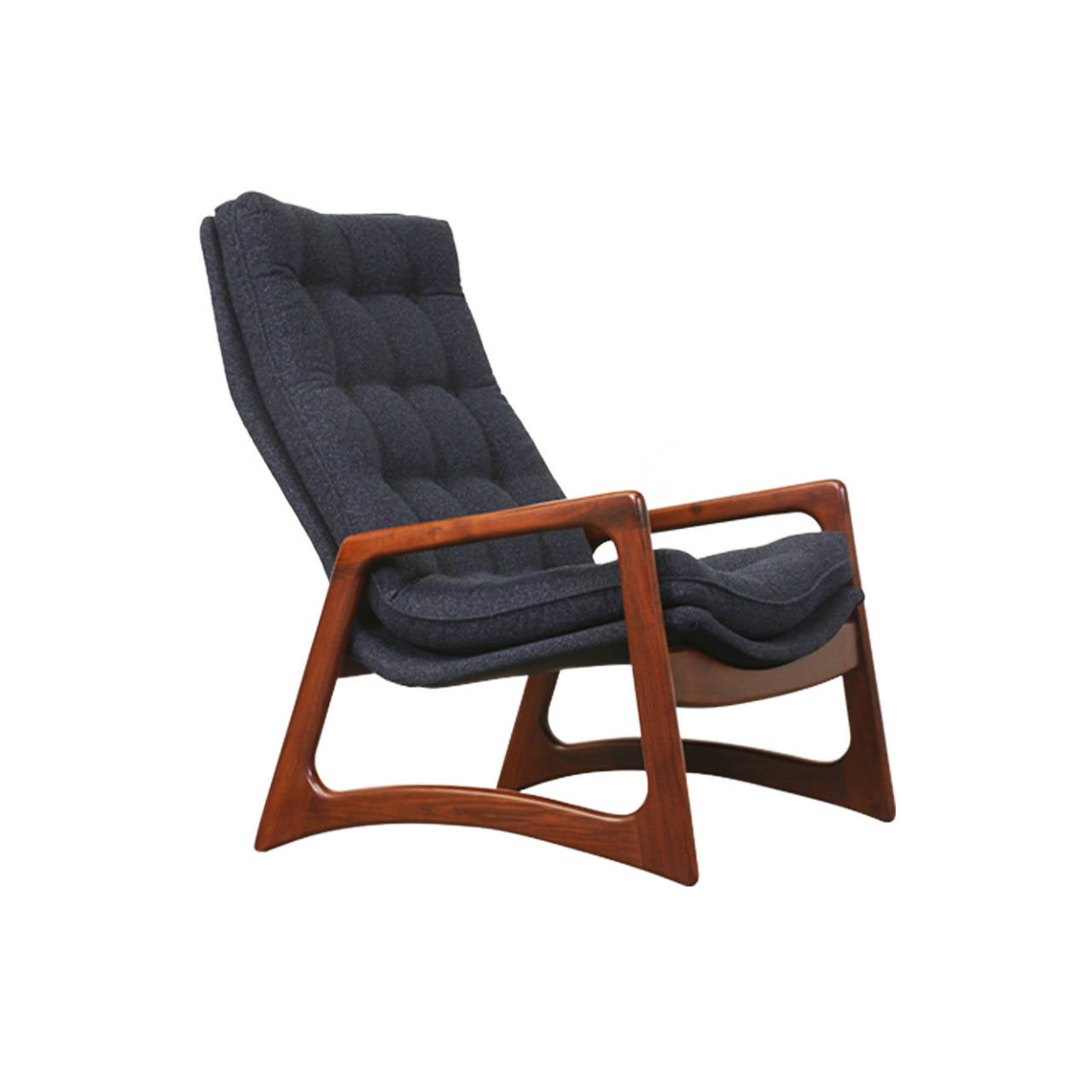 adrian pearsall lounge chair harvard for sale high back tufted craft