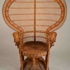Rattan Peacock Chair Dining Chairs Contemporary At 1stdibs