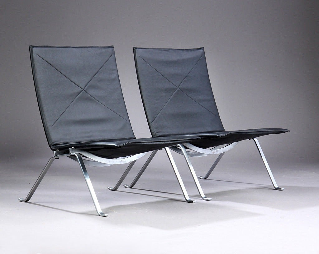 Pk22 Chair Pk22 Lounge Chairs By Poul Kjaerholm Manufactured By E