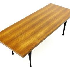 Teak Sofa Table Modular Furniture Systems With Diabolo Legs Circa 1960s At 1stdibs