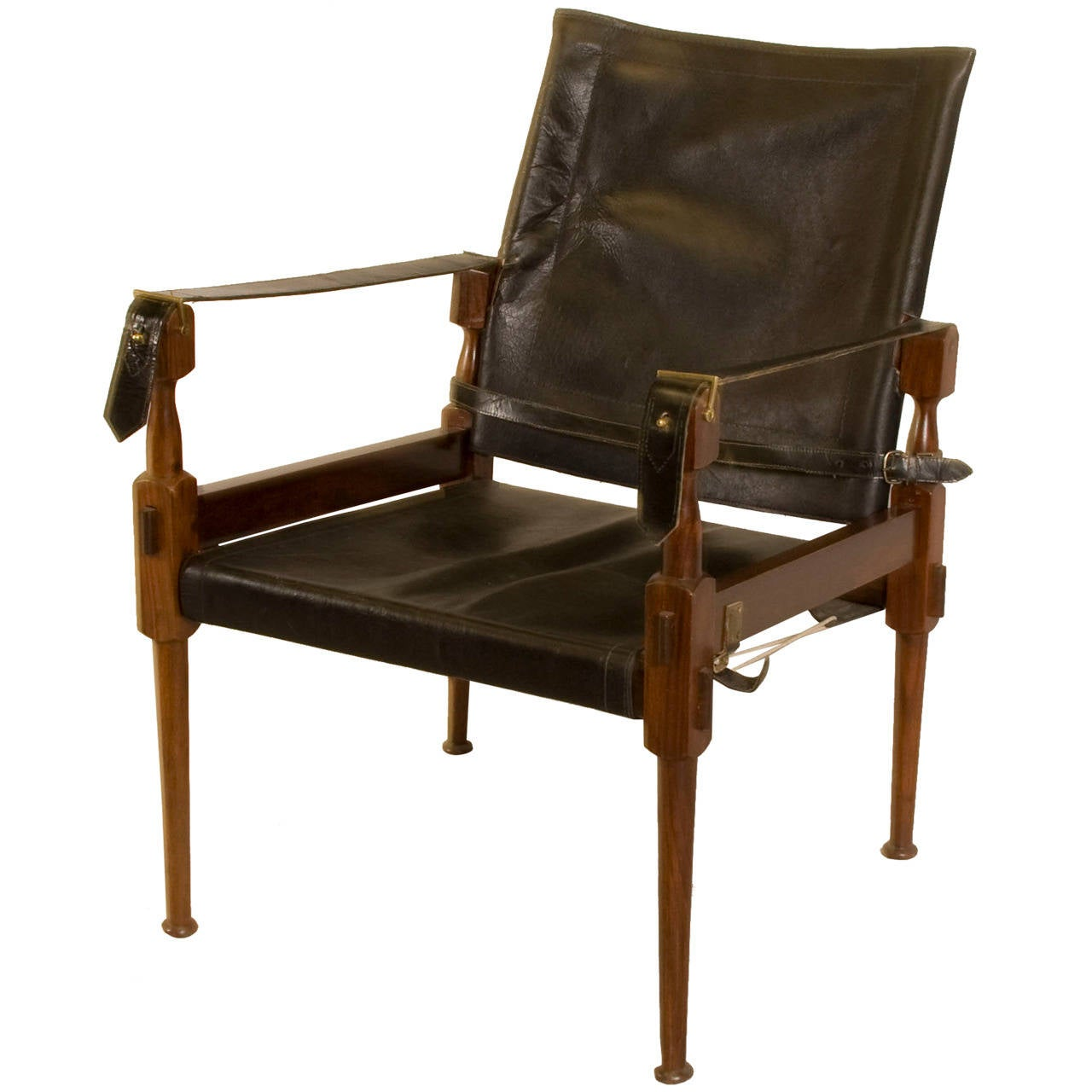 Safari Chair Rosewood Safari Chair In The Style Of Carl Auböck At 1stdibs