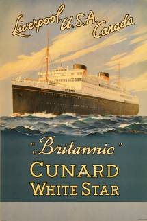 Samuel Brown - Original Vintage Cruise Ship Poster