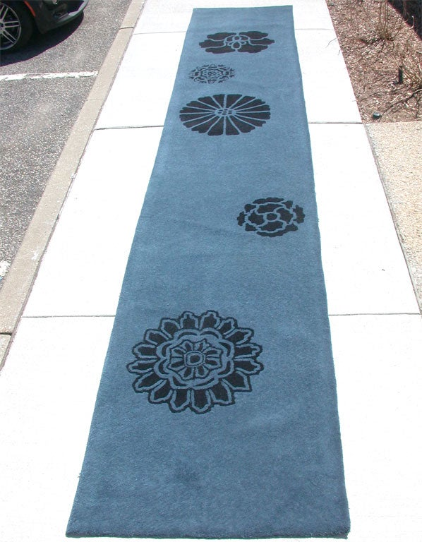 "Alpaca Wool Carpet ""Peony"" Designed by Tracey Garet for"