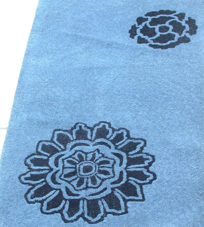 """Alpaca Wool Carpet """"Peony"""" Designed by Tracey Garet for"""