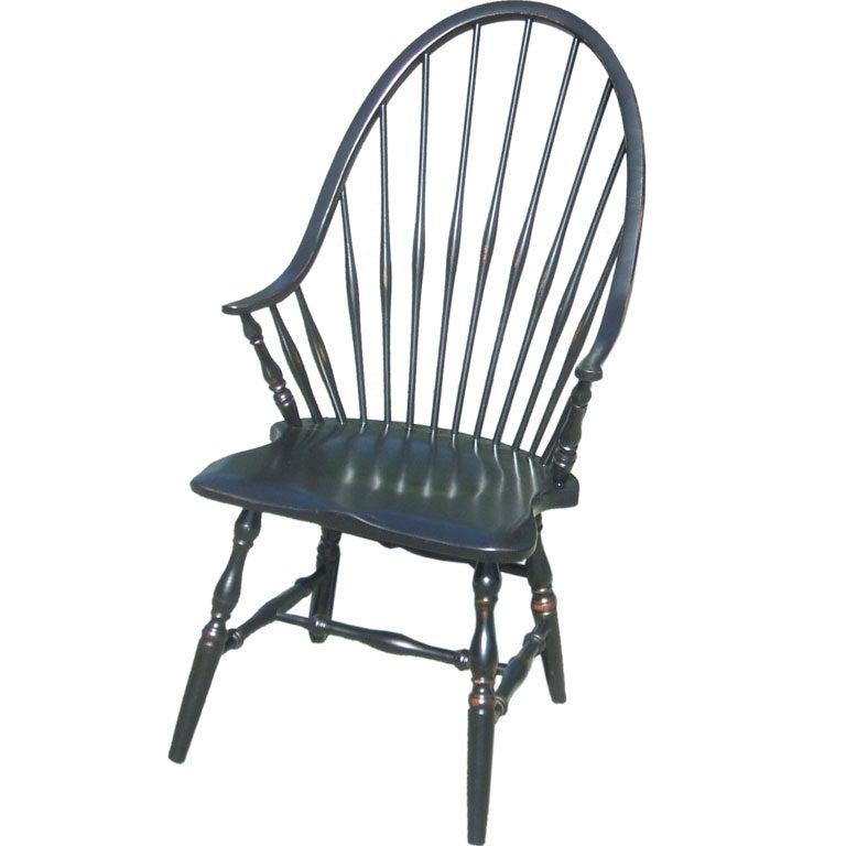 Black Windsor Chair at 1stdibs