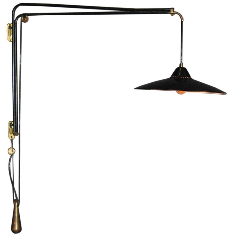 Wall Bracket Lamp, by Franco Buzzi for O