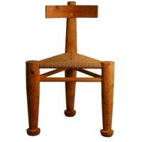 Triangular architect studio chair / corner chair at 1stdibs